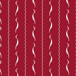 1900 Waves-red