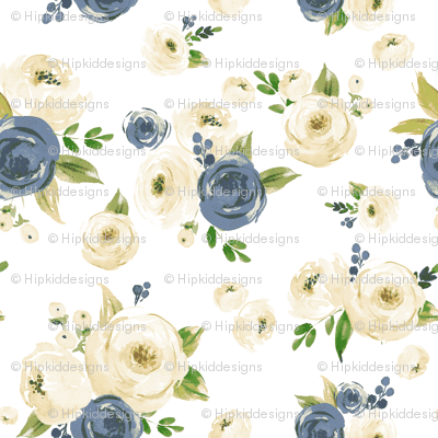 Farmhouse Jean Florals