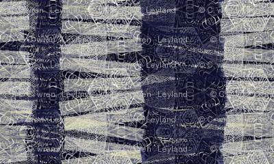 navy textured stripes
