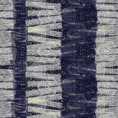 navy textured stripes fabric by wren_leyland on Spoonflower - custom fabric