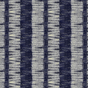 navy textured stripes