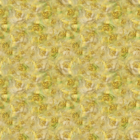 Golden Rosebuds fabric by patriciacwilson on Spoonflower - custom fabric