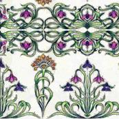 Art Deco flowers 1a