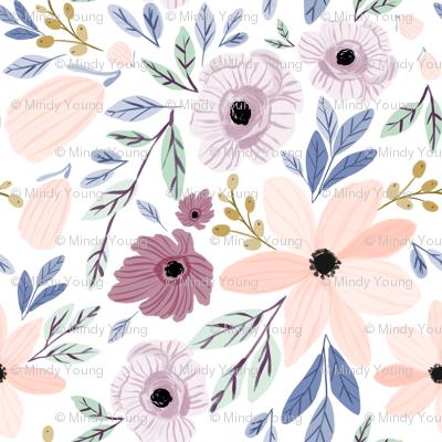 Indy bloom design sugar plum poppy A