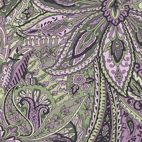 Paisley Garden Lilac