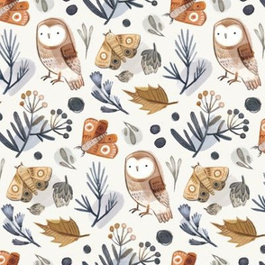 Owl and Moth Repeat