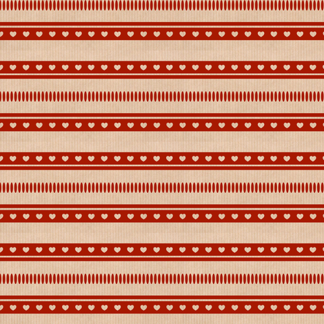 Lovely Ribbon Red fabric by betz on Spoonflower - custom fabric