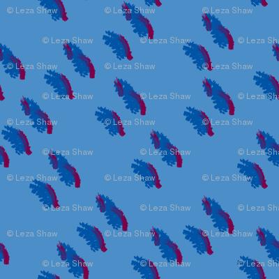 BLUE on BLUE DASH