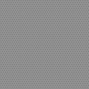 miniature kilim eye - black and white