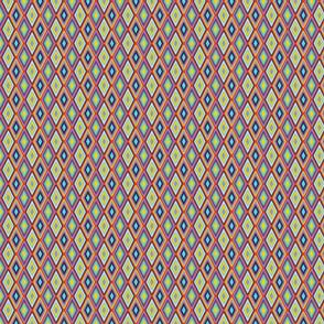 mini kilim eye - color mix 3