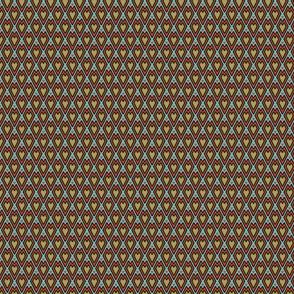 miniature kilim hearts colored 3