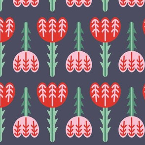 Tulips - Gray