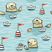 otter paperboat regatta