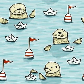 otter paperboat regatta