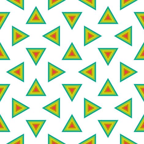 07233491 : triangle 4g : botanical fabric by sef on Spoonflower - custom fabric