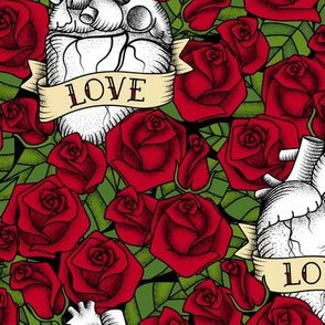 Heart and Roses_Love