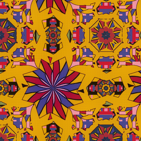 Golden Expo fabric by david_kent_collections on Spoonflower - custom fabric
