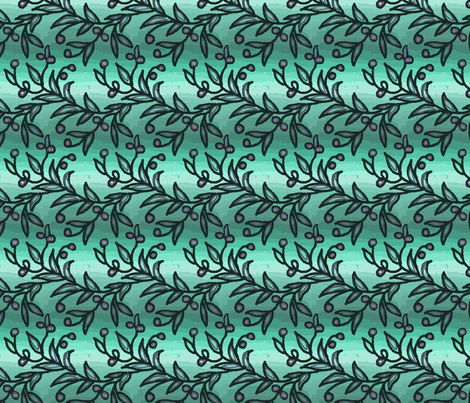 peppertree fabric by palusalu on Spoonflower - custom fabric