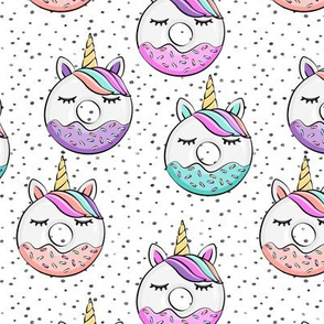 unicorn donuts on spots
