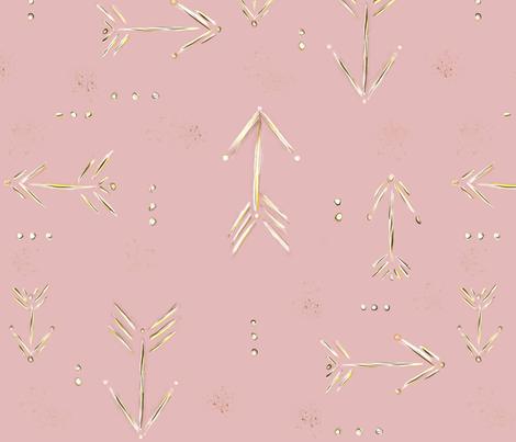Blush fabric by mobichic on Spoonflower - custom fabric
