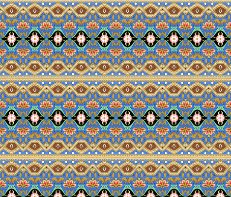 arabesque 89 fabric by hypersphere on Spoonflower - custom fabric