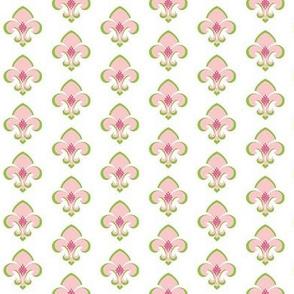 Fleur de Lis SMALL 133 - white petal