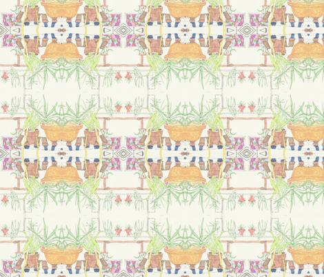 Setting fabric by ktruxton_ on Spoonflower - custom fabric
