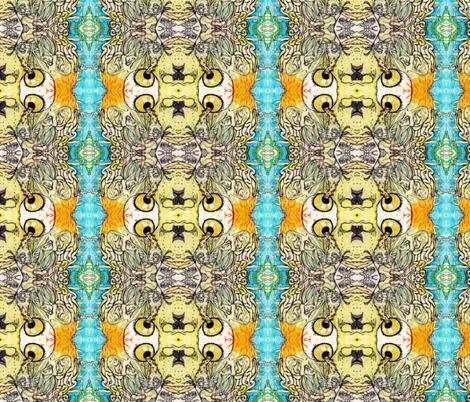 Wisdom 2 fabric by ktruxton_ on Spoonflower - custom fabric