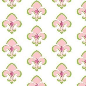 Fleur de Lis MED 233 - white petal