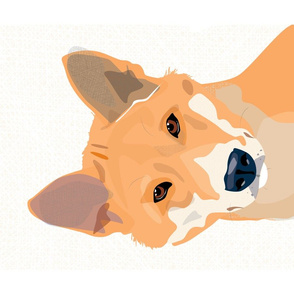 Dingo tea towel by Mount Vic and Me