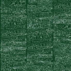 Mac's math - chalkboard