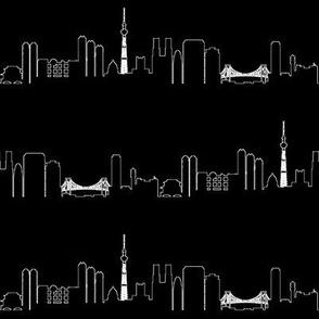 Tokyo Outline // Black