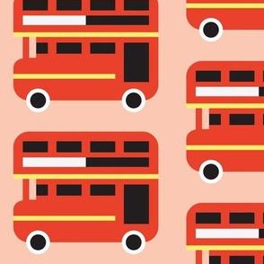 Double Decker Bus - Pink