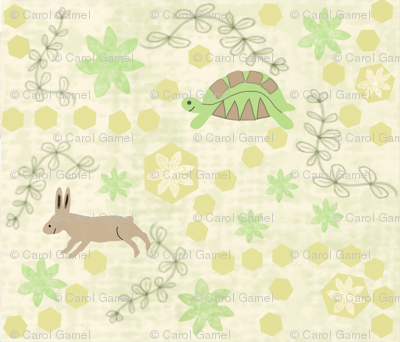 The Tortoise and the Hare Fable +