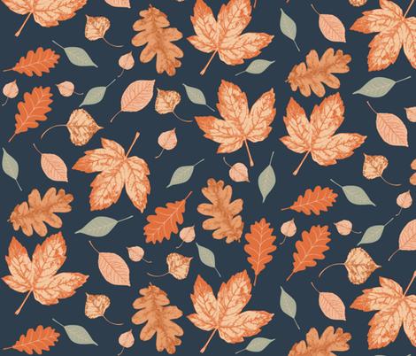 Autumn Sky (Large) fabric by dualsunsdesign on Spoonflower - custom fabric