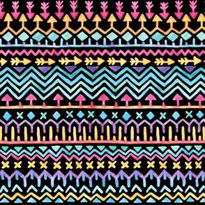 Tribal Bright – Black