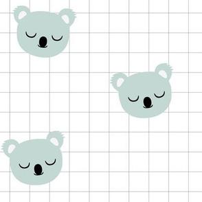 Koala Grid Mint