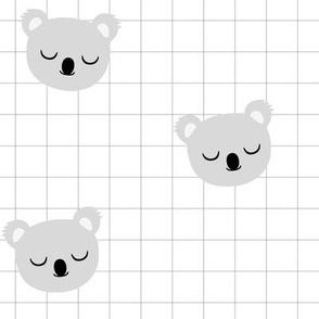 Koala Grid Gray