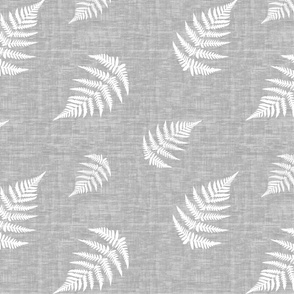 Fern - Texture gray