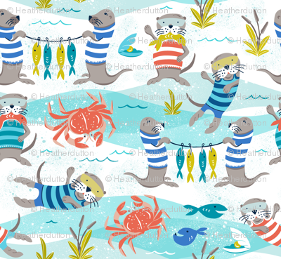 Otterly Fun - Summer Nautical