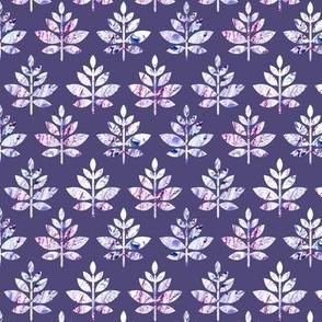 marble leaves violet