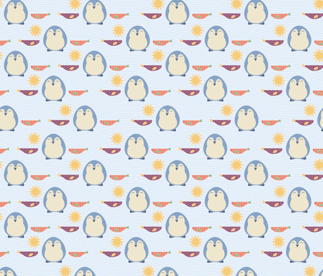 Little Blues fabric by meredith_watson on Spoonflower - custom fabric