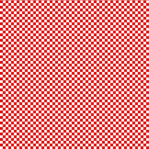 Red and White Checks