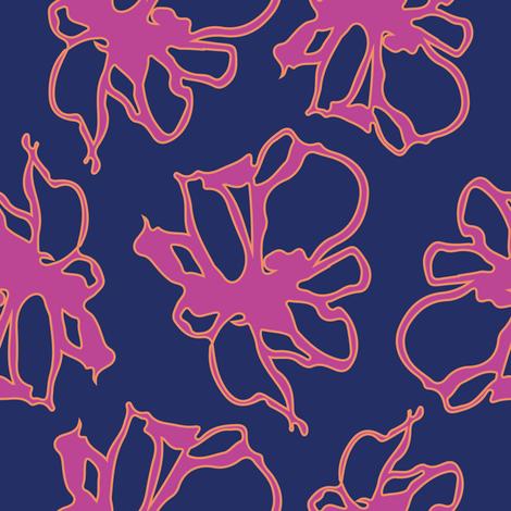 Flower-1.2 fabric by ami_ali_studio on Spoonflower - custom fabric