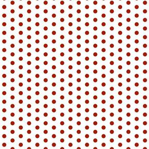 Red Dot Polka Dots
