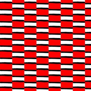 Haba Jiri Red Black & White 8