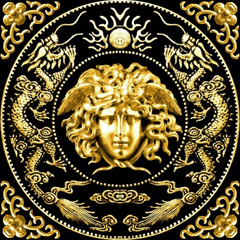 Rspoonflower-cmyk-adjust-all-gold-dragon-coin-medusa_shop_preview