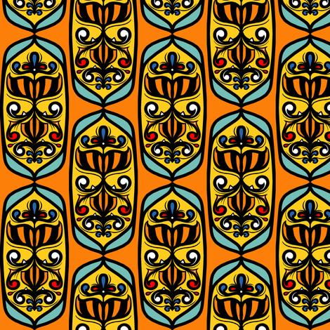 Circus Tile Coordinate fabric by jadegordon on Spoonflower - custom fabric