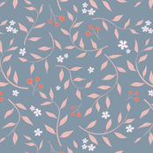 Willow, grey and pink