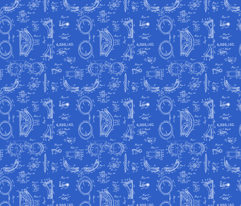 Safety goggle blueprint micro print fabric b0rwear spoonflower safety goggle blueprint micro print fabric by b0rwear on spoonflower custom fabric malvernweather Image collections